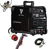 STAHLWERK CUT 60 Pilot IGBT Plasmaschneider mit 60 Ampere und Pilotzündung, bis 24mm Schneidleistung,...