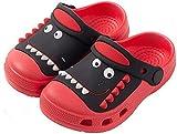 Zuecos y Mules Niño Niña Sandalias de Playa Chanclas de Piscina Zapatos de Piscina Jardín Zapatillas Verano Antideslizante Rojo 190/30-31