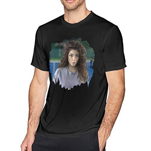 Lorde Tennis Court EP Herren Classic T-Shirt Schwarz, 5XL