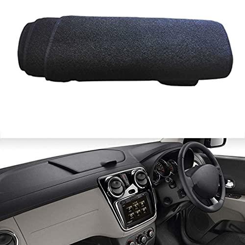 VNASKH Alfombra interior para salpicadero de coche, alfombrilla para salpicadero, para Renault Dacia Lodgy, parasol, cojín antisolar, protector de almohadilla para capa