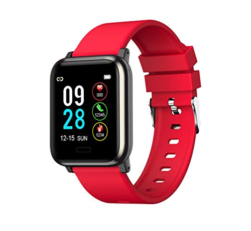 L8star Fitness Tracker,1.3'' Large Color Screen Activity Tracker,Heart Rate Monitor Watch, Sleep Monitor,Calories Counter, IP67 Waterproof, Steps Pedometer for Kids, Women and Men