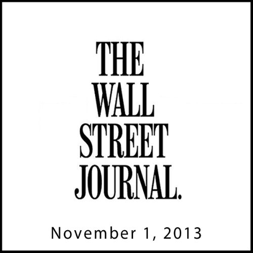 The Morning Read from The Wall Street Journal, November 01, 2013 copertina