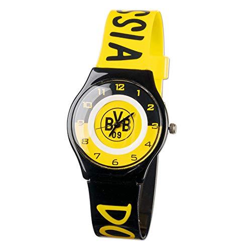 Borussia Dortmund, BVB-Uhr für Kinder, 00 Schwarz/Gelb, 0