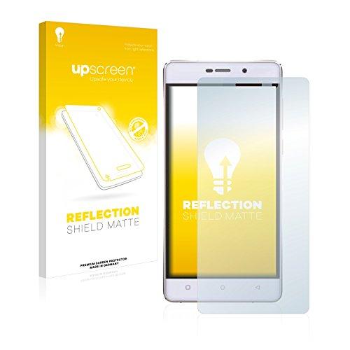 upscreen Entspiegelungs-Schutzfolie kompatibel mit Gionee Marathon M4 – Anti-Reflex Bildschirmschutz-Folie Matt