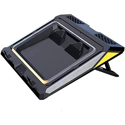 Laptop fan Gaming Laptop Cooling Pad, 4500RPM Strongest Laptop Cooler 17.3 inch, It has three wind speed adjustments, Adjustable Mount Stand, it is an ideal choice for cooling gaming laptops.