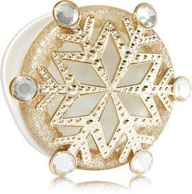 Bath & Body Works Champagne Snowflake Scentportable Visor Clip