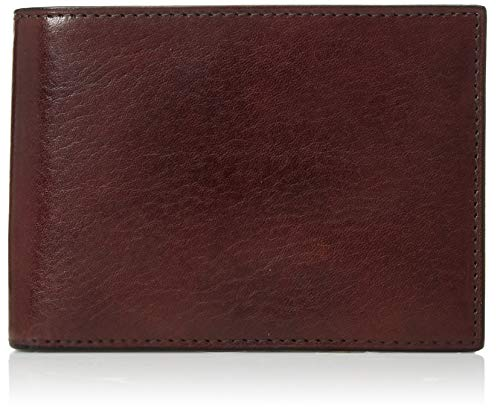 Bosca | Men's Credit Bifold Wallet with I.D. Passcase in Italian Old Leather