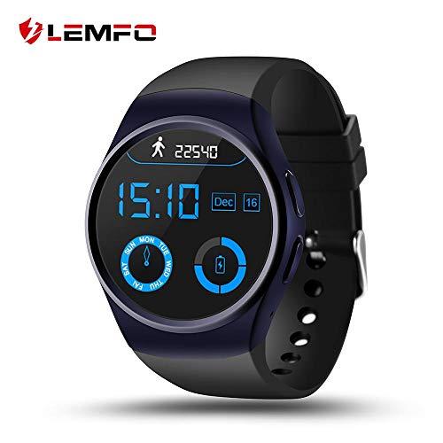 LEMFO LF18 Nuovo smartwatch Bluetooth MTK2502C Supporto SIM TF Card Pedometro Cardiofrequenzimetro (Nuovo smartwatch Bluetooth MTK2502C Supporto SIM TF Card Pedometro Cardiofrequenzimetro)