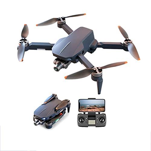Lobhqph Drone GPS Profesional con 4K 2-Axis Gimbal Cámaras duales 5G WiFi FPV Brushless Power RC Quadcopter