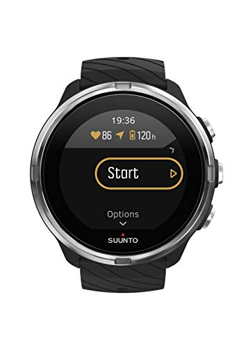 Suunto 9 Reloj con GPS para Multideporte, Unisex, Negro, Talla Única