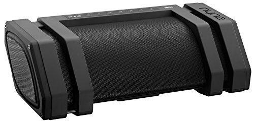 NYNE Rock Portable Bluetooth Splash-Proof Speaker Featuring 65 Watts of Power, Midrange Speakers, Tweeters and Subwoofer