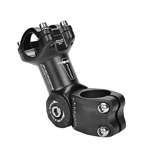 AILOVA Mountainbike Vorbau, Verstellbarer Fahrrad Lenkervorbau Gabelverlängerung Standrohr 25.4/31.8 (31.8 * 90mm)
