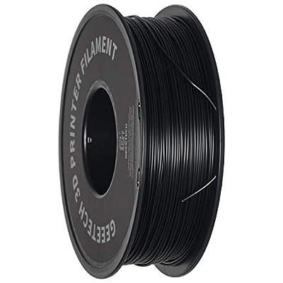 Geeetech PETG Filament 1.75 mm Black PETG 1 kg Spool for 3D Printer