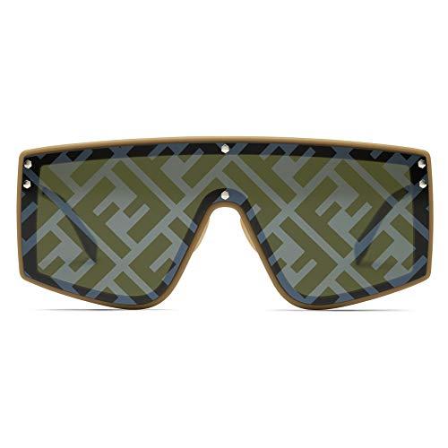 FENDI Gafas de Sol FABULOUS FF M0076/G/S BEIGE/BROWN 99/1/145 hombre