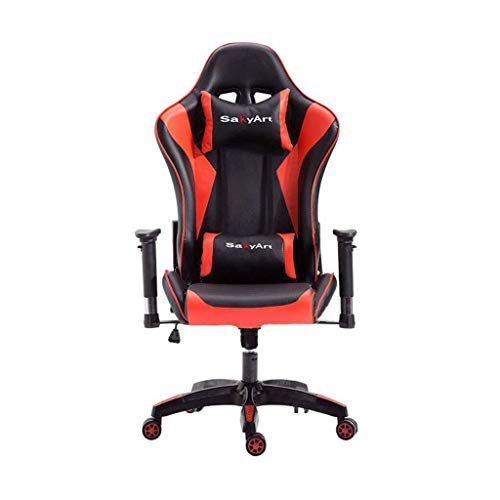 TZZ Gaming Chair High-Back PU...