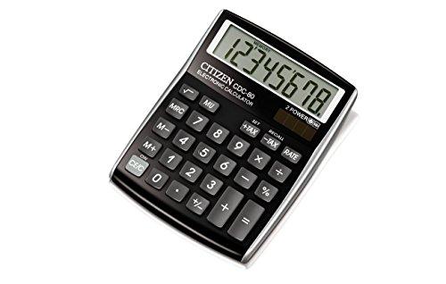 Citizen CDC-80B Tischrechner schwarz