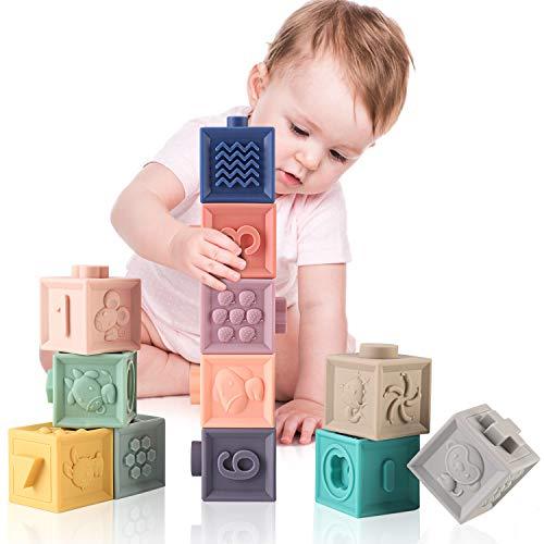 MIXI Baby Toys Blocks, Soft