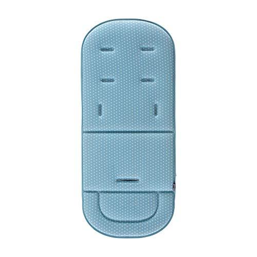 Colchoneta Universal para Silla de Paseo Bebe - Innovaciones MS (azul)