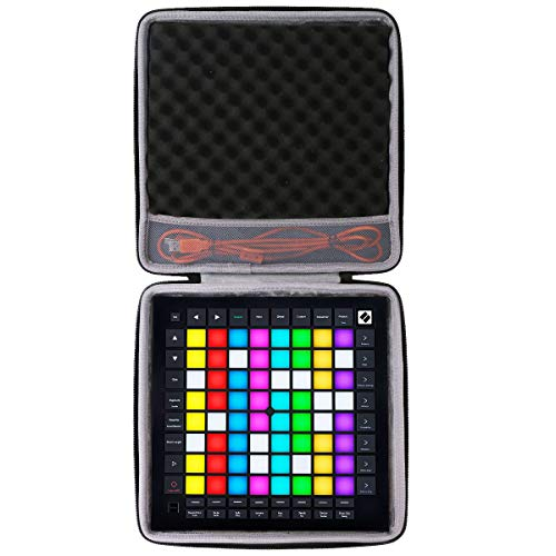 co2CREA Hart Reise Tasche für Novation Launchpad Pro MK3 Ableton Live Controller Hülle Case Tragetasche (Nur Hülle)