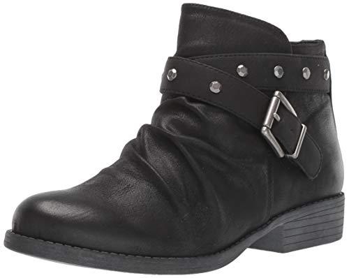 WHITE MOUNTAIN Shoes Savant Women's Boot, Black/Waxy/Fabric, 7H M