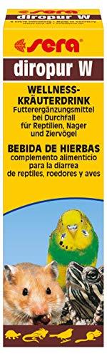sera Diropur W hilft bei Durchfall für Reptilien, Nager (Hamster, Meerscheinchen, Kaninchen) & Ziervögel (Wellensittich, Agaponiden & Nymphensittich)