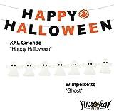 Halloween Deko Dekoration Grusel Set mit über 30 Teilen für Haus, Tisch & Garten - 5