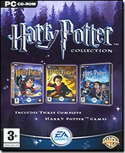 HARRY POTTER COLLECTION COFANETTO 3 VIDEOGIOCHI IN ITALIANO x PC