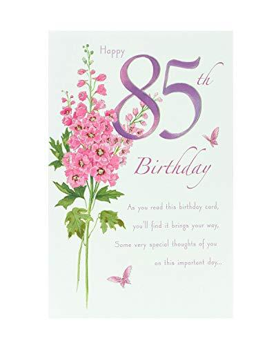 85th Birthday Card - Birthday Card Age 85 - Birthday Card for Her - 85th Birthday Card for Her - 85th Birthday Card Female - Birthday Card Friend - Wife Birthday Card - 85th Birthday Cards for Her