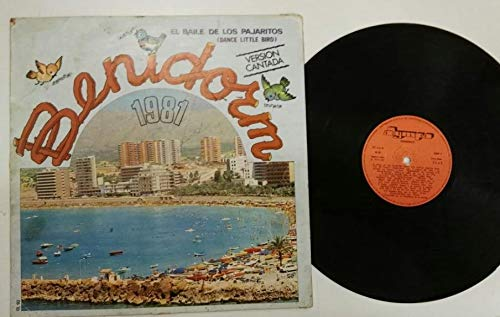 Benidorm 1981 el baile de los pajaritos versión cantada lp Vinilo