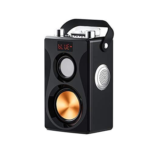 CffdoiLyx Bluetooth Speaker, Wireless Bluetooth Speaker, Free Microphone, Super Loud Volume Portable Speaker, Rechargeable, Dedicated for Home Singing