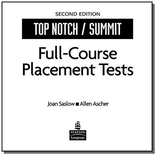Top Notch Placement Test (ECD Version)