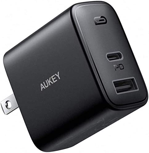Upgraded USB C Charger AUKEY Swift 32W 2 Port Fast Charger for iPhone 12 12 Mini 12 Pro Max product image