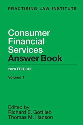 Consumer Financial Services Answer Book 2020