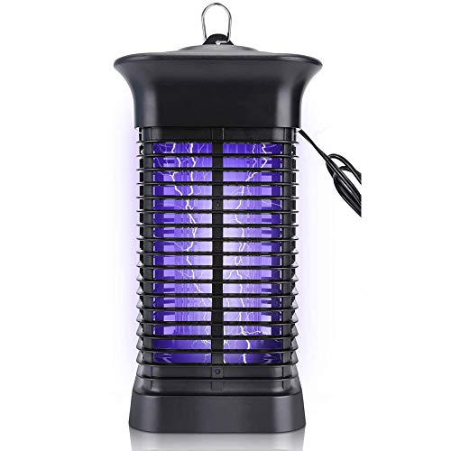 Bug Zapper, 4000V High Powered Electric Mosquito Killer for Indoor and Outdoor, Insect Fly Trap with 15W Mosquito Lamp Bulb for Backyard, Patio, Home ,Office