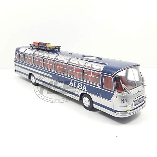 Desconocido 1/43 AUTOBUS Bus Pegaso 5070 SETRA SEIDA S14 COMPAÑÍA ALSA 1967 SALVAT