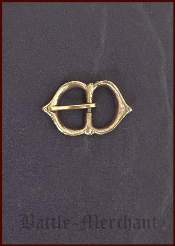 Boucle en laiton spätmittelalter no 21 cm-largeur: env. 15 mm