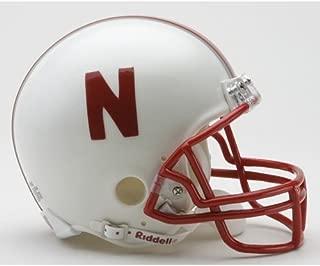 Riddell Nebraska Cornhuskers White Replica Mini Helmet