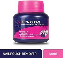 TS Nail Paint Remover - Sponge, Dip N Clean, 40 ml