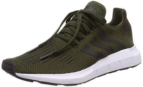 adidas Herren Swift Run Gymnastikschuhe, Grün (Night Cargo/Core Black/Ftwr White), 40 EU