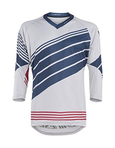 Dainese HG Jersey 2 Camiseta de MTB, Hombre, Vapor-Blue/Negro-Iris/Chili-Pepper, XXL