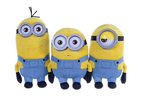 Minions Plüschfigur Gr. 3(ca. 28cm) Bob, Kevin oder Stuart (sortiert)