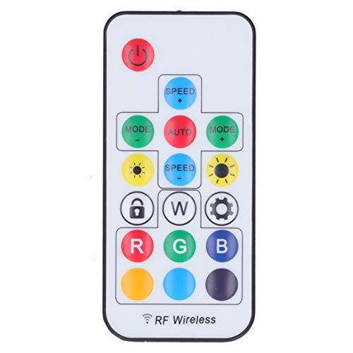 Limouyin Controlador de Tira de luz LED RGB, RGB ABS Iluminación Ambiental...