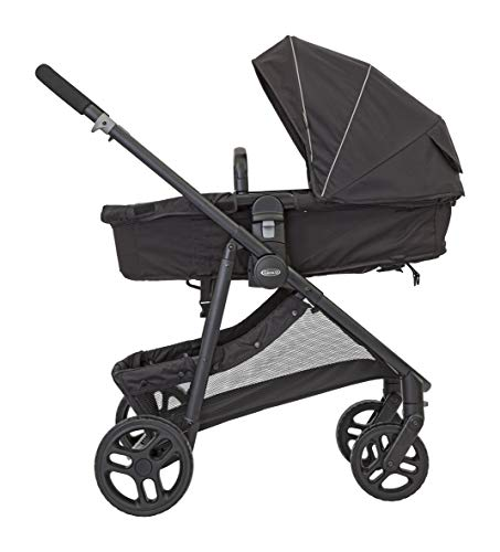 Graco Transform 2-in-1 Pushchair/Stroller (Birth to 4 Years Approx, 0-22 kg), Converts from Pramette to Pushchair, Black Graco Suitable from birth to approx. 4 years (22kg) Convertible pramette to pushchair in a flash. includes a comfy soft new-born liner for the first journey Click connect travel system compatible with graco snug ride/snug essentials i-size infant car seats 3
