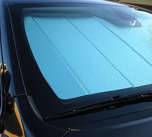 LT Sport Protector de rayos UV para parabrisas con visera frontal plegable