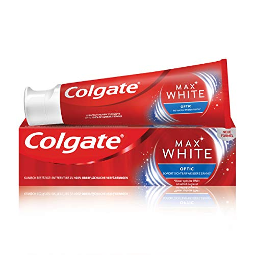 Colgate Max White Optic Zahnpasta, 75 ml