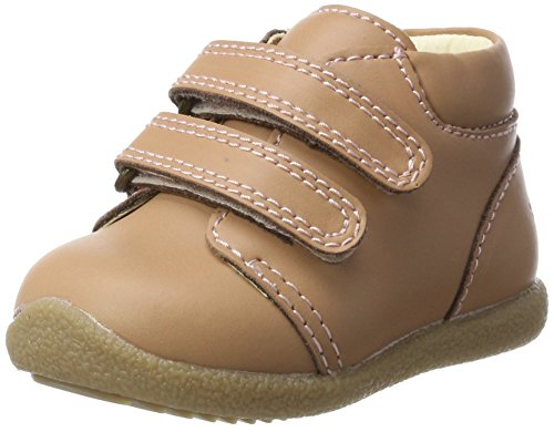 EN FANT Mädchen Beginner Shoe Velcro Lauflernschuhe, Pink (Rose), 24 EU