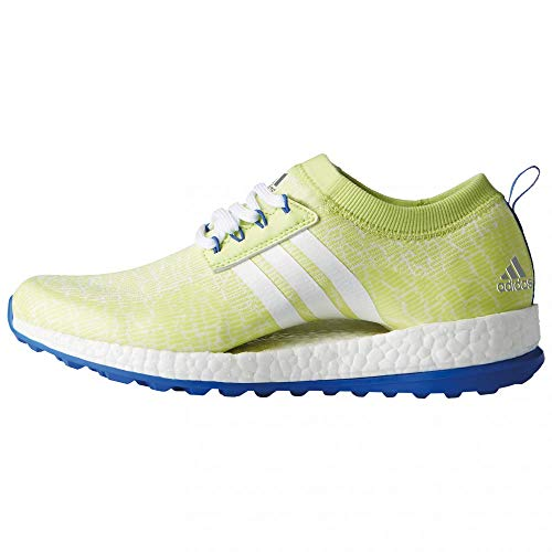 adidas Women's W Pure Boost XG Golf Shoes, Yellow (Amarillo F33661), 3.5 UK