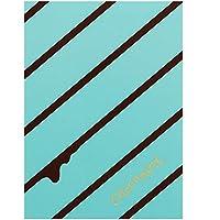 サンスター文具 付箋 ブック型 スイーツアラモード チョコミント ストライプ S2816598