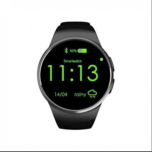 intelligent Fitness tracker montre de sport, mode, classique, l'appel rappel, suivi d'activité, design simple classique Mode intelligent regarder, HD, écran tactile pour iPhone iOS et Android téléphones Argent