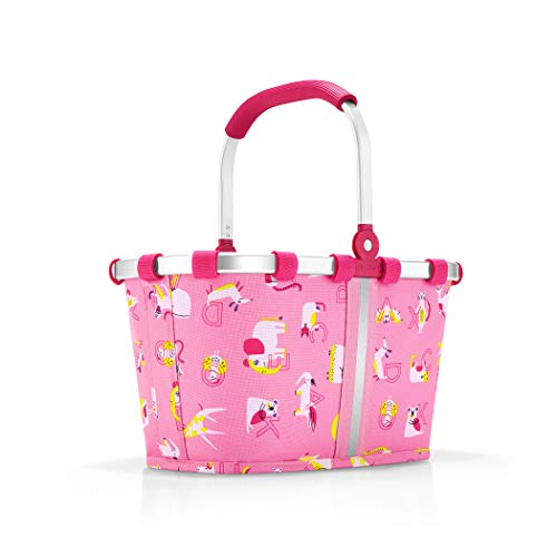 reisenthel carrybag XS kids Einkaufskorb 33,5 x 18 x 19,5 cm / 5 l / abc friends pink